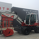 Pelleteuse pneus takeuchi, vendee distribution